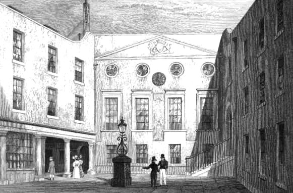 Apothecaries Hall in late Regency times