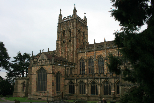 Malvern priory