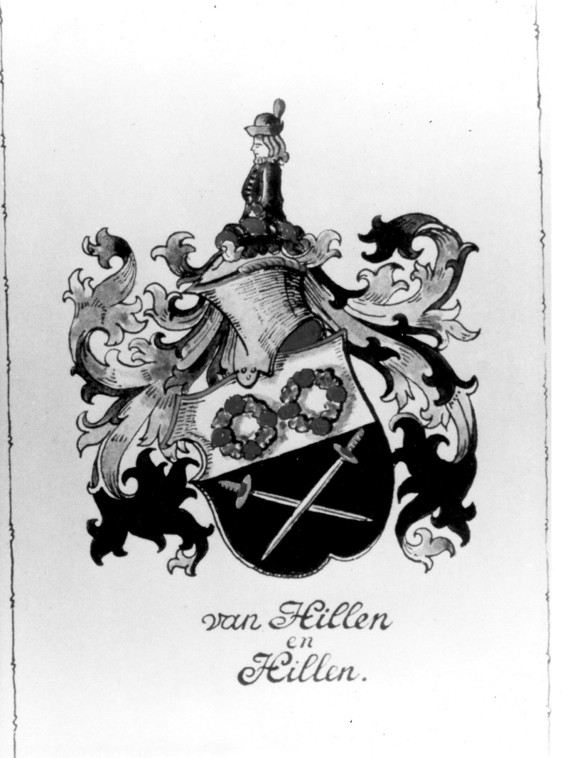 Hillen family crest