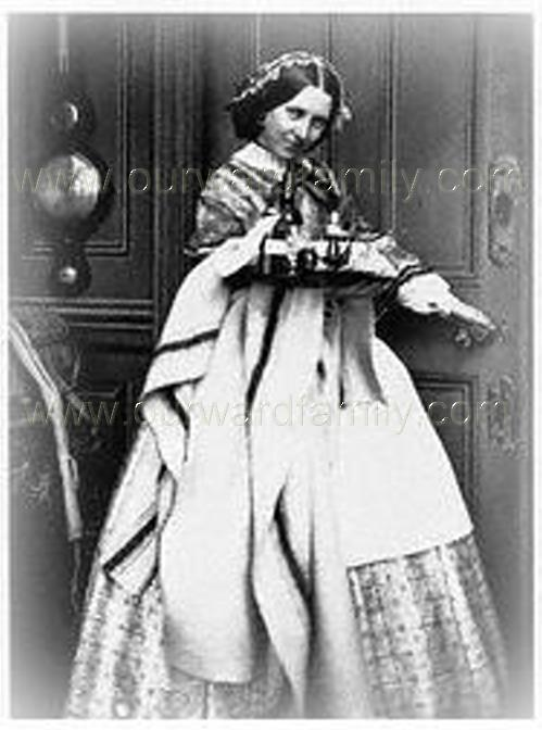 Generic Victorian housemaid - not Emma Smith